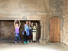 Inside Craigmillar Castle
