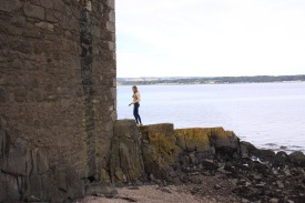 Anna exploring the outer walls of Blackness