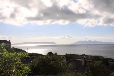 Isles of Rumm and Eigg from Mallaig