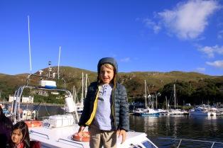 Kurti at the docks